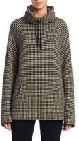 Ralph Lauren Funnelneck Houndstooth Sweatshirt