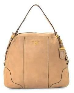 Prada Vintage Vitello Leather Shoulder Bag