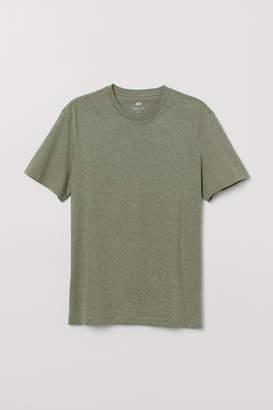 H&M T-shirt Regular Fit - Green