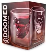 Fred & Friends Doomed Skull Shot Glass - Set of 2