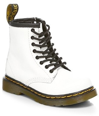 Dr. Martens Little Girl's & Girl's 1460 Combat Boots