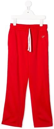 Chiara Ferragni Kids Logo Stripe Track Pants