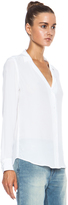 Equipment Adalyn Silk Blouse in Bright White