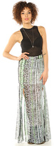 The One lovers + friends & Only Maxi Skirt in Animal