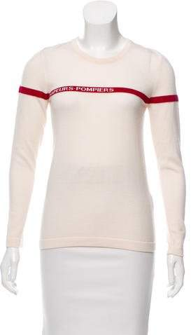 Altuzarra French Fireman Wool Sweater