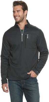 Hi-Tec Men's Three Brothers Modern-Fit Micro Tech Fleece Quarter-Zip Pullover