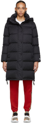 Burberry Black Down Sellindge Long Jacket