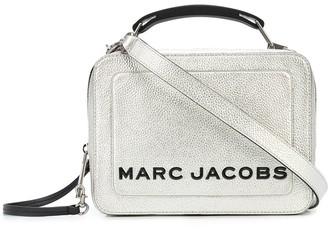 Marc Jacobs The Metallic Textured Box 23 bag