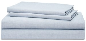 Lauren Ralph Lauren Graydon SoftWeave 144, 4-Pc. Queen Sheet Set Bedding
