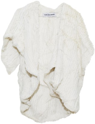 Yves Salomon Ecru Rabbit Knitwear for Women