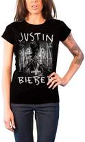 Justin Bieber T Shirt Purpose Album Cover Official Womens New Skinny Fit