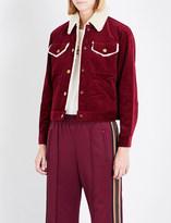 Marc Jacobs Cropped cotton corduroy jacket