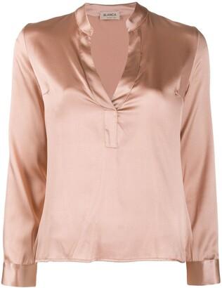 Blanca v-neck blouse