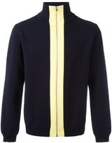 Marni zipped turtleneck jumper - men - Cotton - 50