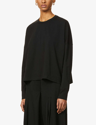 Studio Nicholson Mercerized relaxed-fit cotton-jersey top