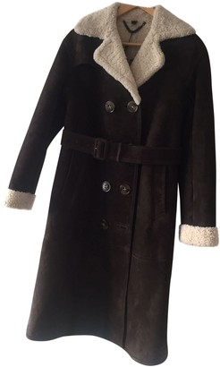 Burberry Brown Suede Coats