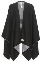 Burberry Reversible Check Merino Wool Cape