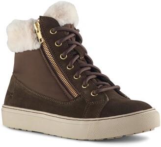 Cougar Dublin Faux Fur Trim Sneaker