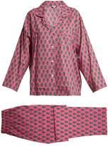RHODE RESORT Berto floral-print pyjama set