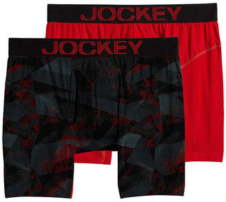 Jockey 2 Pair RapidCool Boxer Brief - Men's