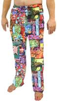 Briefly Stated Marvel Comics Guardians of the Galaxy All Over Print Sleep Lounge Pants - Medium