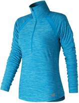 New Balance Women's Anticipate Half Zip Top