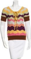Missoni Wool Short Sleeve Top