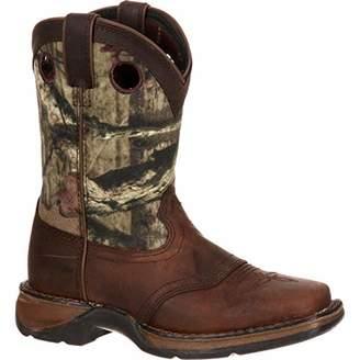 Durango Unisex Lil Big Kid Camo Saddle Western Boot Mid Calf