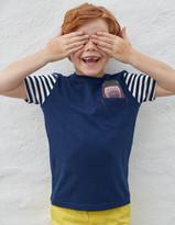 Boden Embroidered Pocket T-Shirt