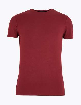 Marks and Spencer Supersoft Supima Cotton Blend Vest
