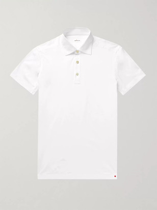 Kiton Cotton-Jersey Polo Shirt