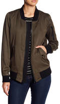 John & Jenn Quincy Reversible Bomber Jacket