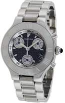 Cartier Men's 21 Chronoscaph Watch W10172T2