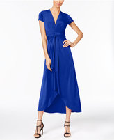 MICHAEL Michael Kors Maxi Wrap Dress