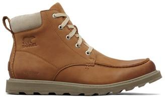 Sorel Men's Madson Moc Toe Waterproof Ankle Boots