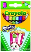 Crayola ; Shopkins Crayons 8ct - Poppy Corn