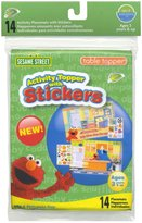 Neat Solutions Activity Topper w/ Stickers - Sesame Street - 14 ct