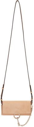 Chloé Orange Mini Faye Wallet Bag