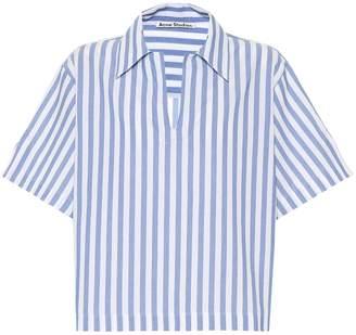 Acne Studios Striped cotton shirt