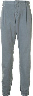 Pt01 Elasticated Tapered Trousers