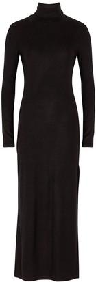 Ninety Percent Black Stretch-jersey Midi Dress