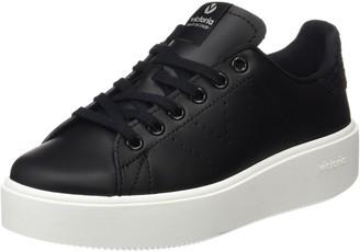 Victoria Unisex Adults' Baskets Deportivo Piel Sneakerss Black (Negro) 3.5 UK (36 EU)