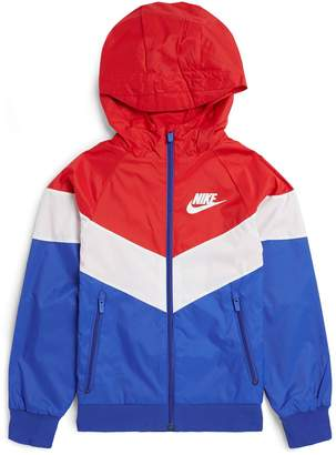 Nike Chevron Colour-Block Hooded Jacket