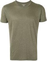 Majestic Filatures round neck T-shirt - men - Linen/Flax/Spandex/Elastane - S