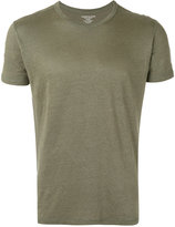 Majestic Filatures round neck T-shirt - men - Linen/Flax/Spandex/Elastane - XL