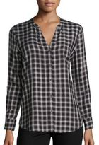 Soft Joie Joie Dane Plaid Button Down Shirt