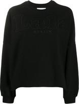 Lala Berlin logo embroidered sweatshirt