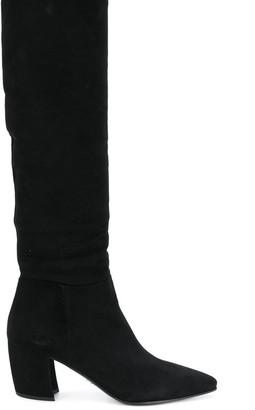 Prada 110 knee high boots