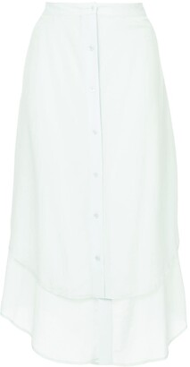 Sies Marjan Layered Button Up Skirt