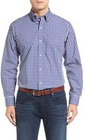 Tailorbyrd Men's Big & Tall 'Enzo' Regular Fit Dobby Check Sport Shirt